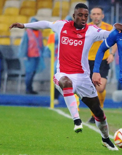 Ajax midfield prospect Riechedly Bazoer (Image: Football.ua)