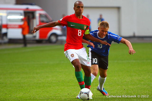 Joao Mario in action for Portugal u19s [Image: Catherine Kõrtsmik]