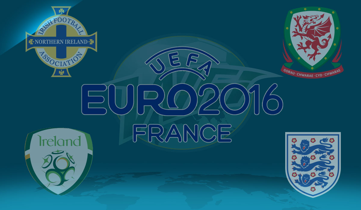 Will Grigg's on Fire: Northern Ireland, England, Ireland & Wales Head to France for Euro 2016