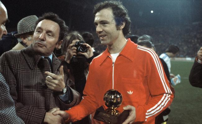 Image result for beckenbauer golden ball