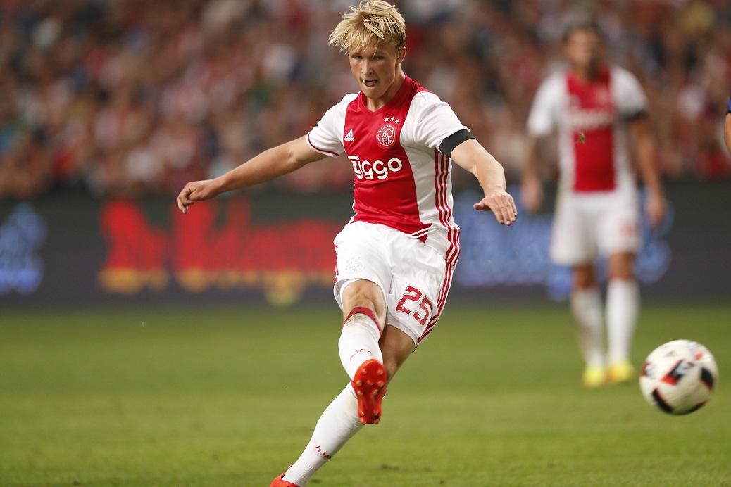 Kasper Dolberg: Ajax's Dashing Dane