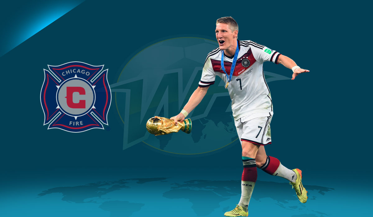 Bastian Schweinsteiger Ready to Take on the World at Chicago Fire