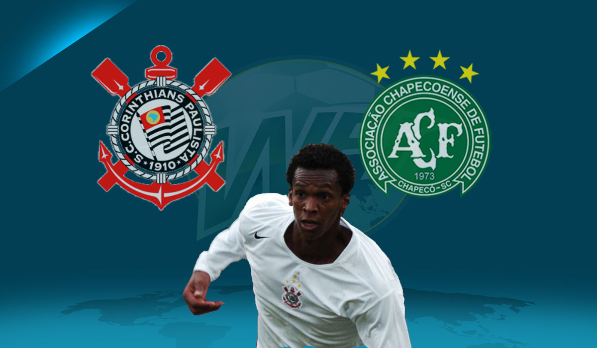 Jo Goal Not Enough for Winning Start: Corinthians 1, Chapecoense 1
