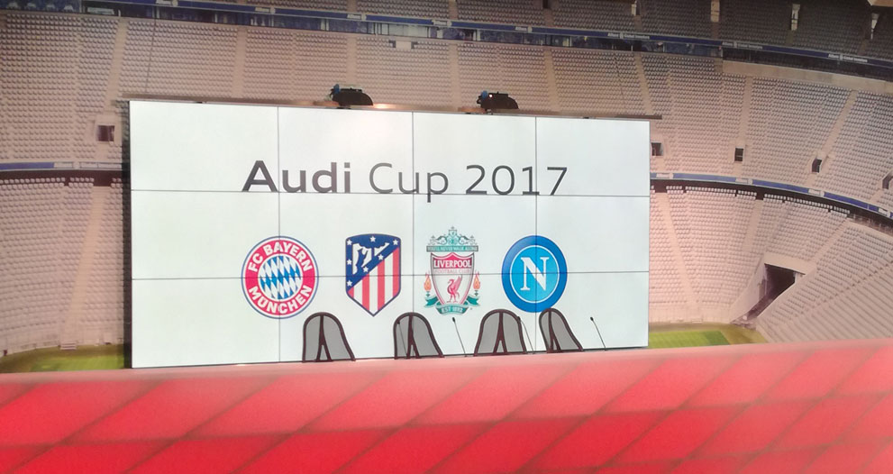 Audi Cup Shows International Club Friendlies Still Have A Place In Football