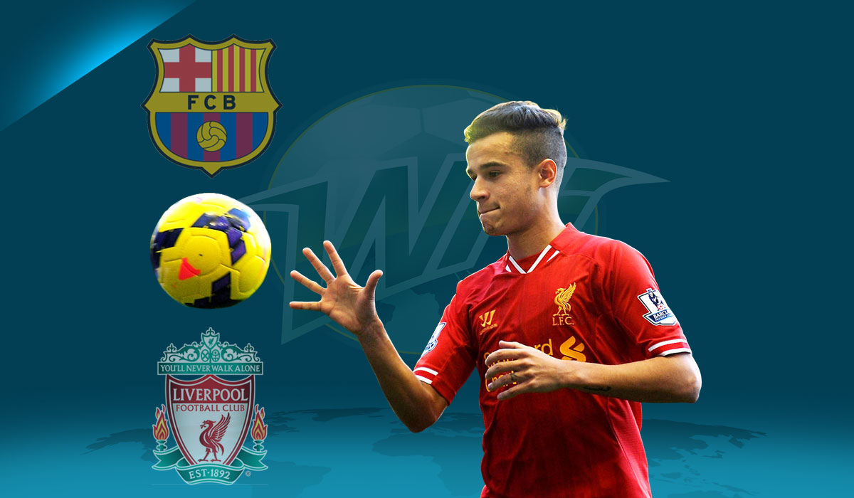 Brazilian Media Convinced That Coutinho is Barcelona Bound