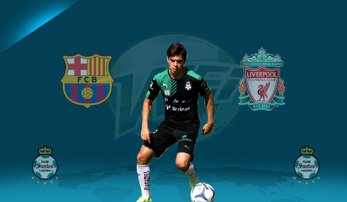 Liverpool & Barcelona Monitor Mexican Midfielder Ulises Rivas