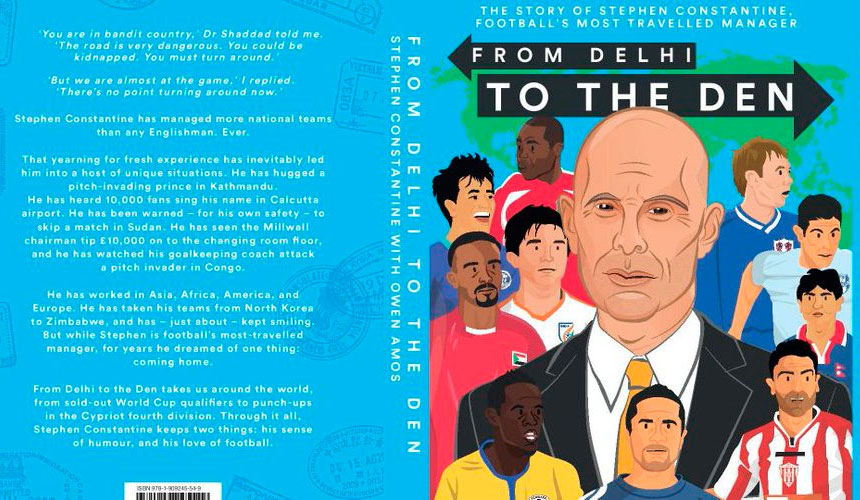 Book Review – From Delhi To The Den by Stephen Constantine