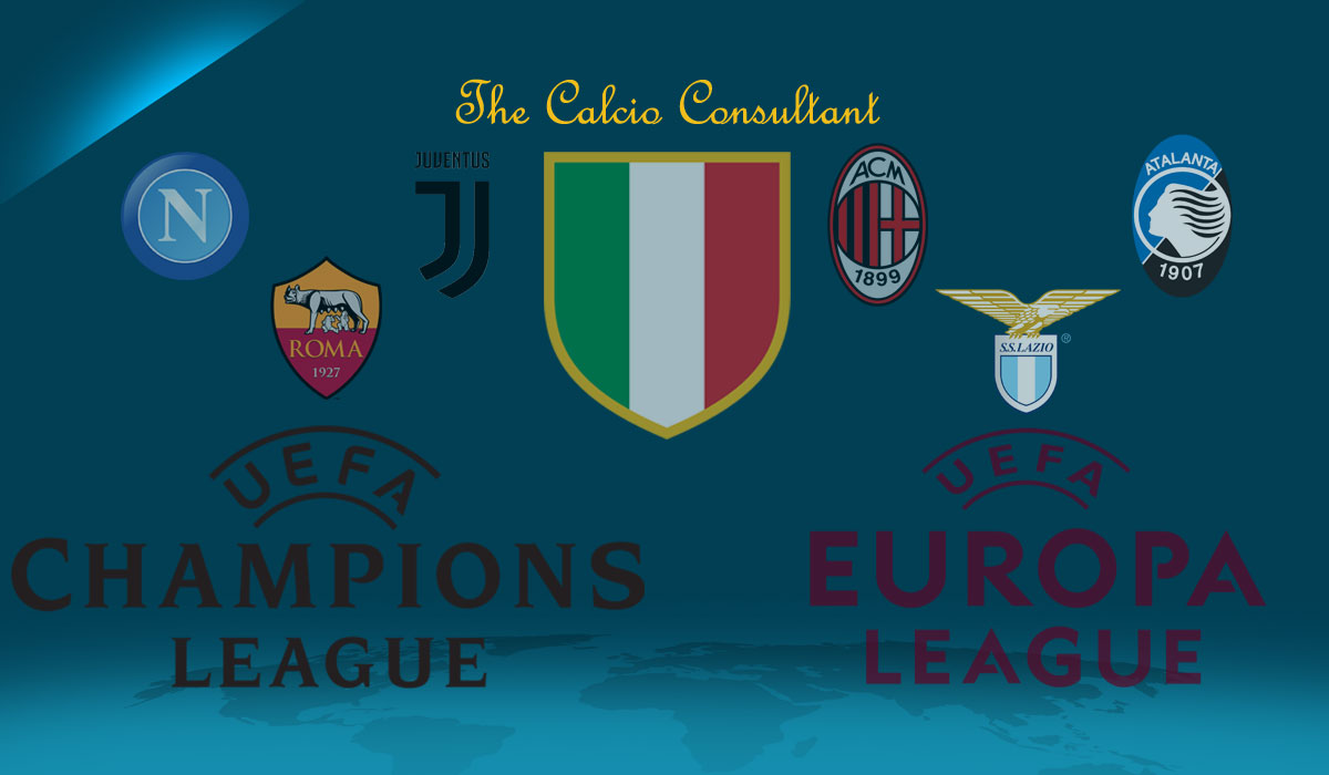 Previewing Italian Sides in Europe 2017/2018 – The Calcio Consultant