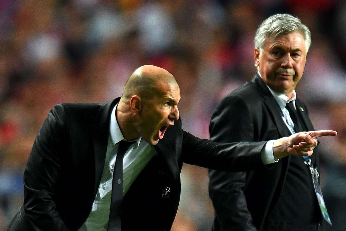 Zidane Real Ancelotti Bayern