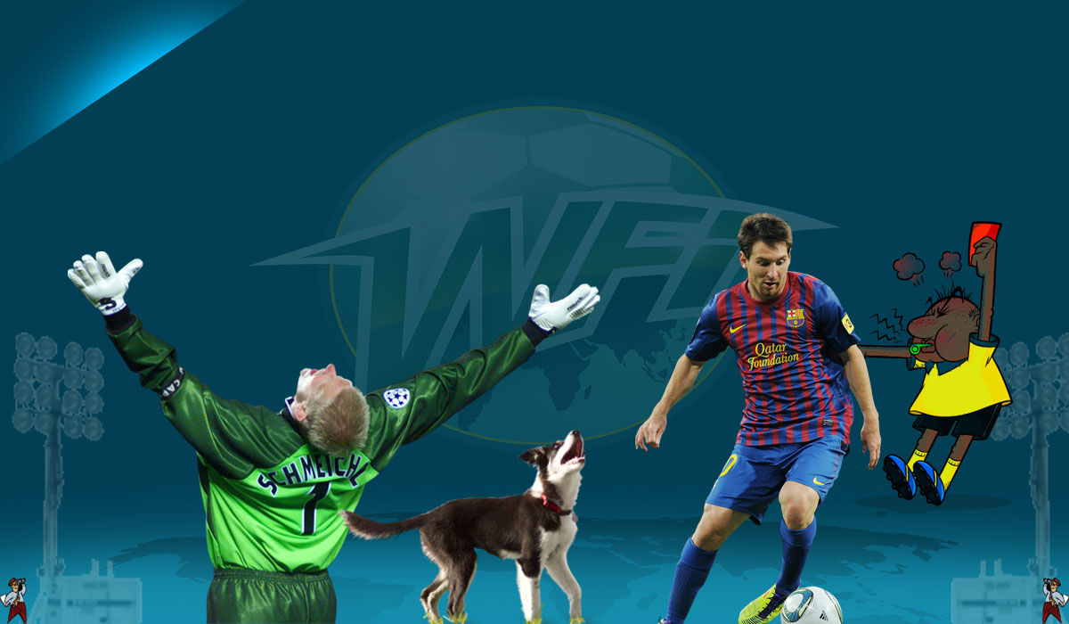 'There's A Dog On The Pitch!' – And Other Football Miscellany