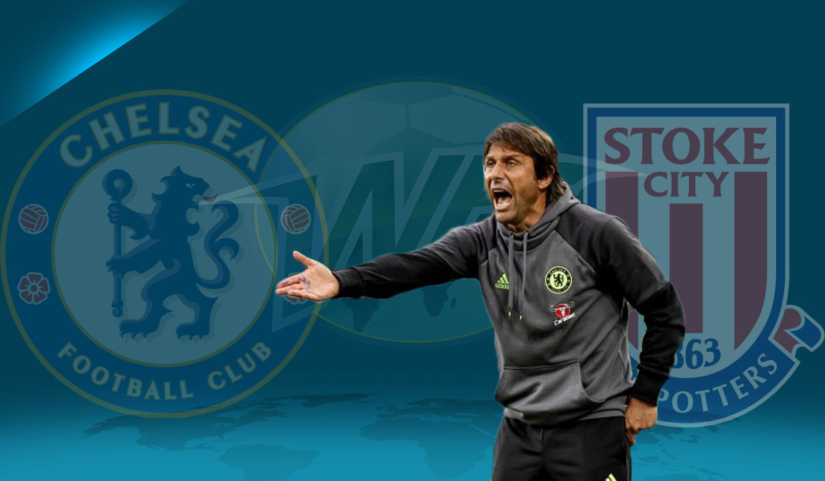 Conte's Chelsea Look to Extend Run Against Stoke