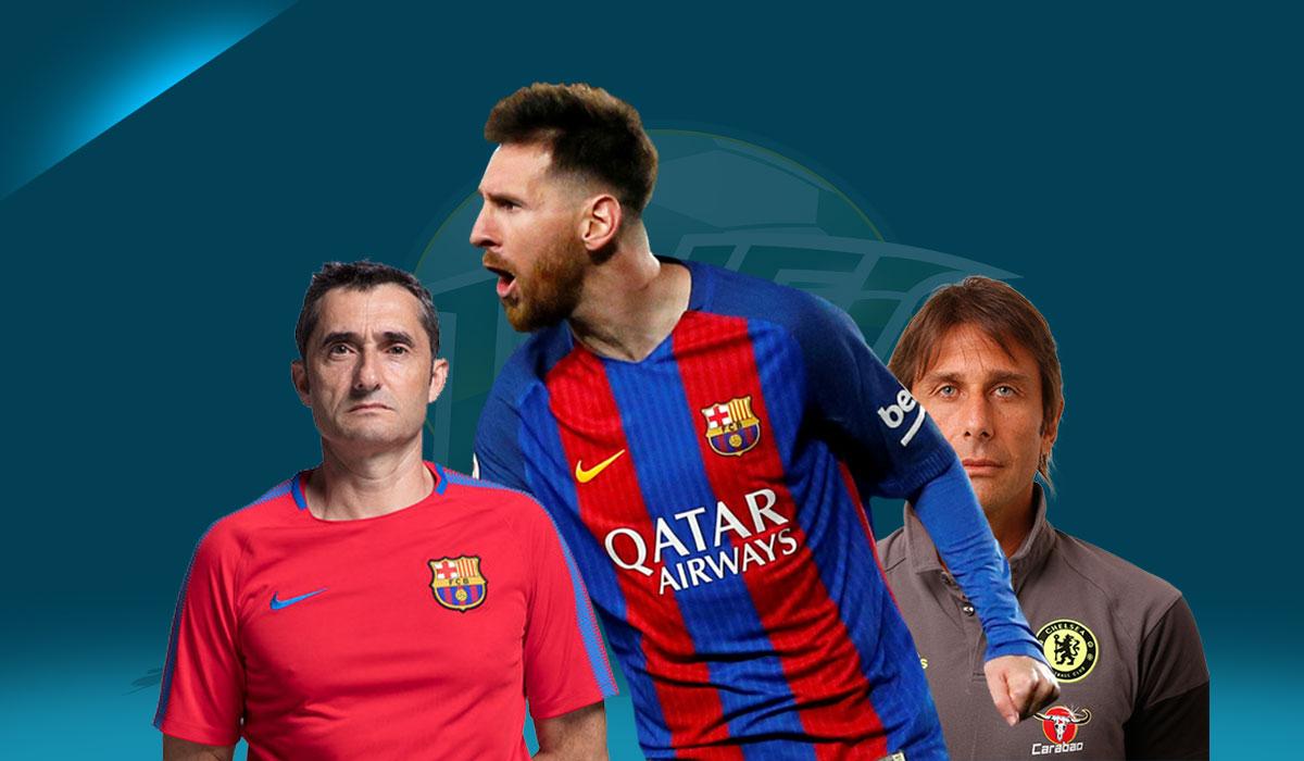 Barcelona Crisis? What Crisis? Let's Talk Treble, Eh?