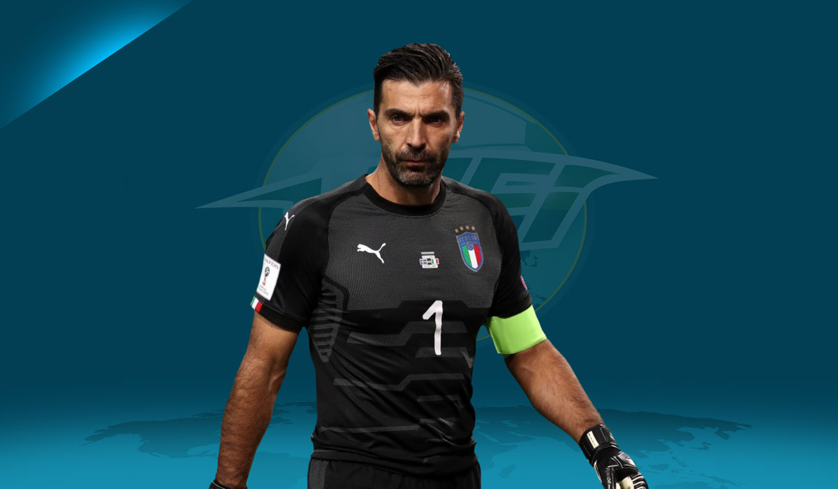 Buffon The Star Of Italy v Argentina In Messi's Absence
