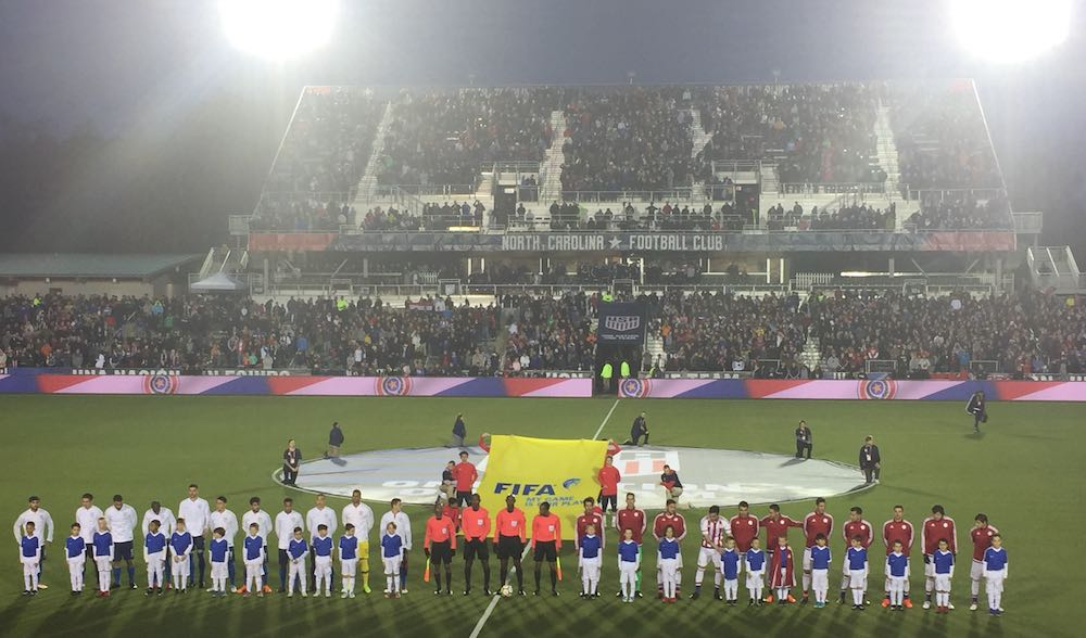 Dull United States & Complicit Paraguay Show Other Side Of March Friendlies