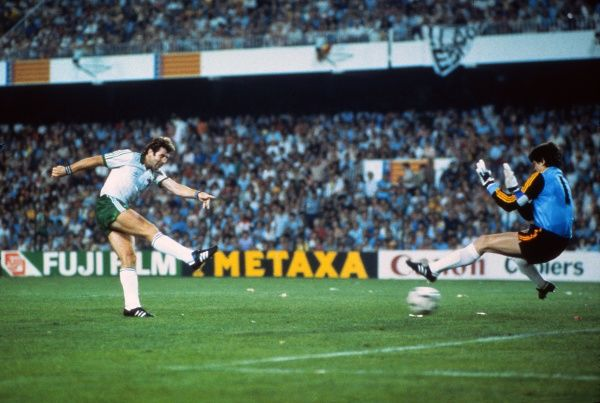 47 - Gerry Armstrong: Northern Ireland v Spain 1982 - 90 World Cup ...