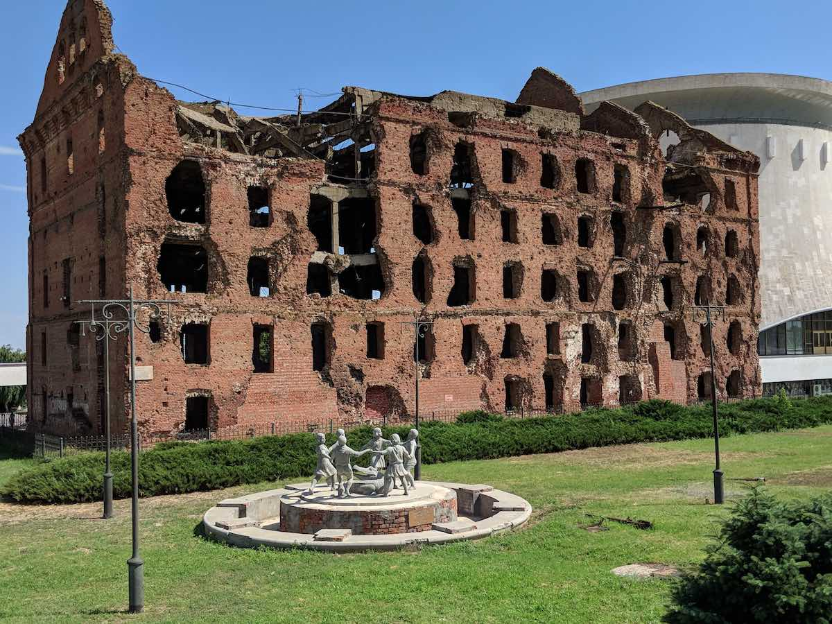 Mill Volgograd Battle of Stalingrad