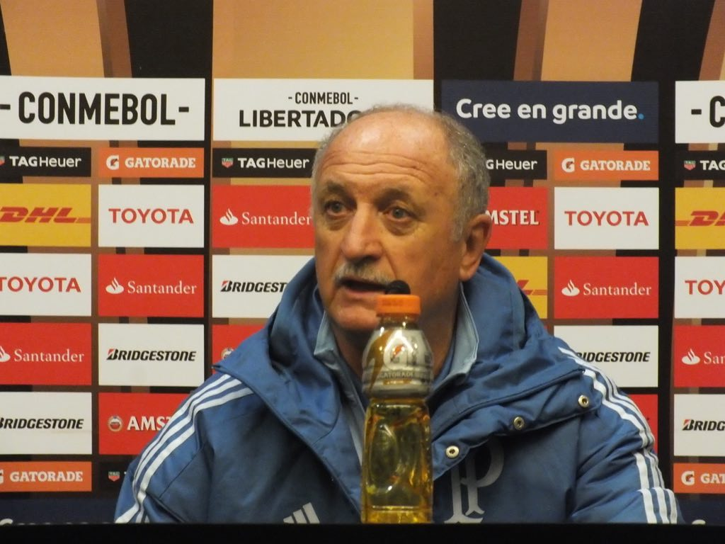 Scolari Wary of Colo-Colo Comeback After Palmeiras Triumph In Copa Libertadores Quarter Final First Leg