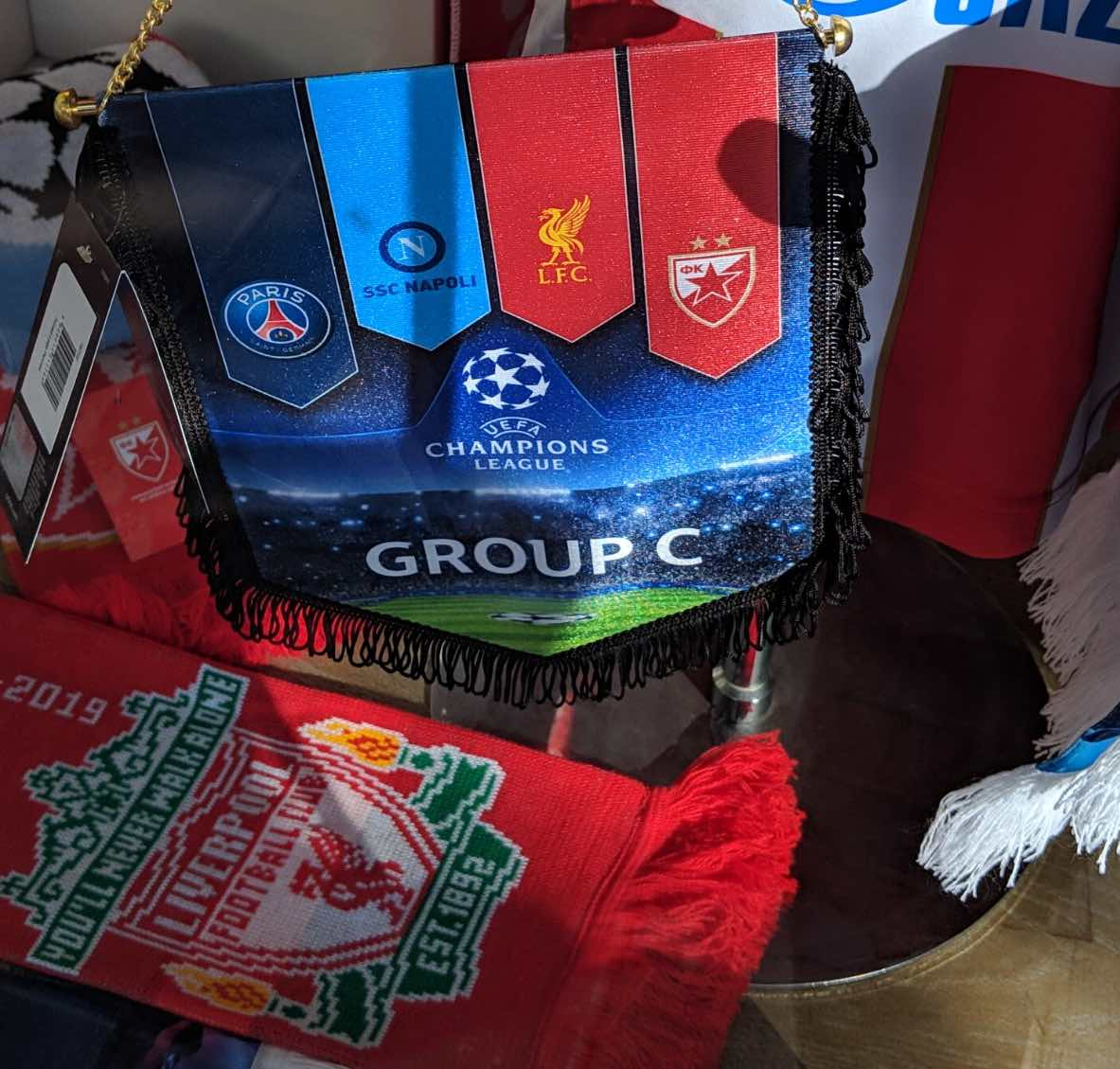 Liverpool champions league group c