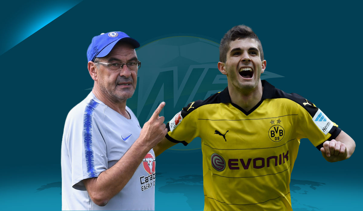 Why Maurizio Sarri Not Knowing About Christian Pulisic Transfer Is No Surprise