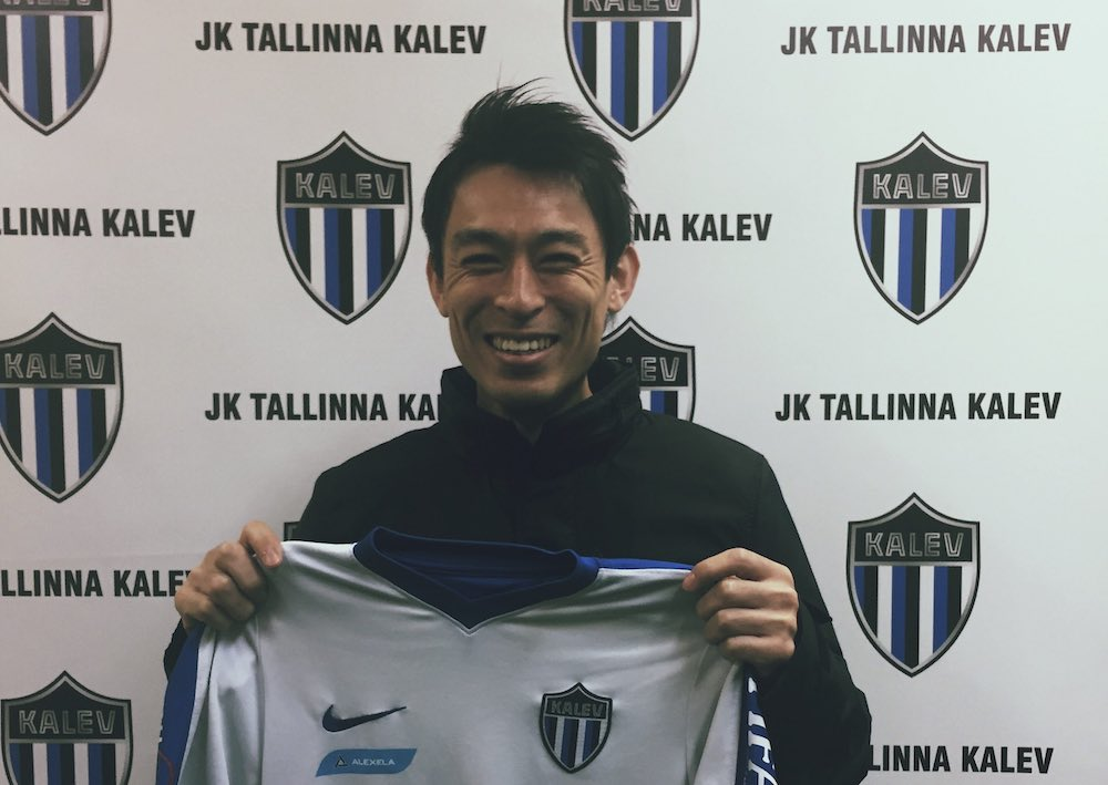 Tallinna Kalev's Japanese Midfielder Hidetoshi Wakui Speaks To WFi