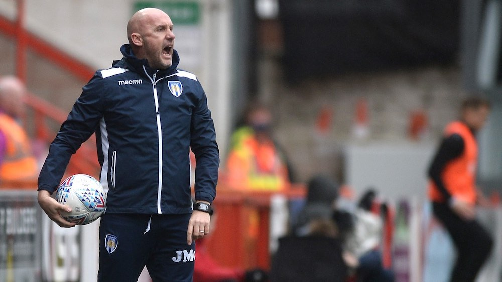 John McGreal On Colchester's Play-Off Hopes & Moving Into Management With Help From The LMA