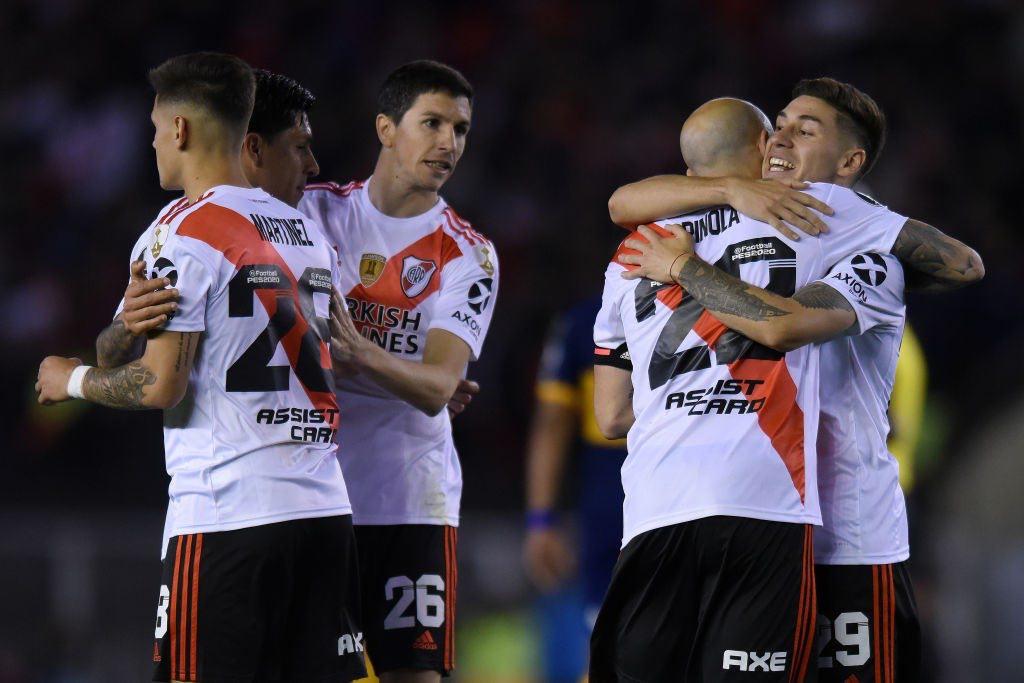 River Plate Take Control Of Copa Libertadores Superclasico vs Boca Juniors