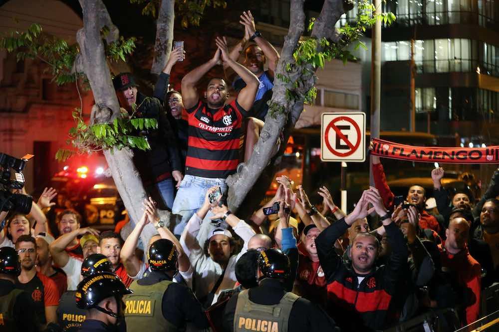 Flamengo Fans Libertadores Lima