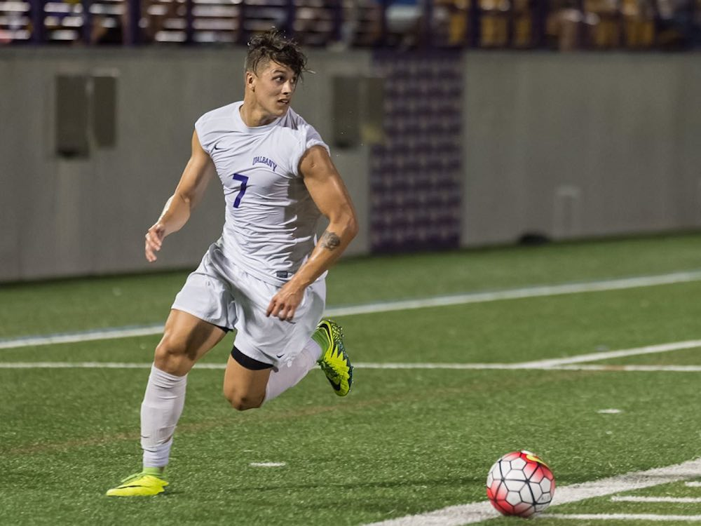 Nicolas Solabarrieta On US Youth Soccer & NCAA Kick And Run At Albany