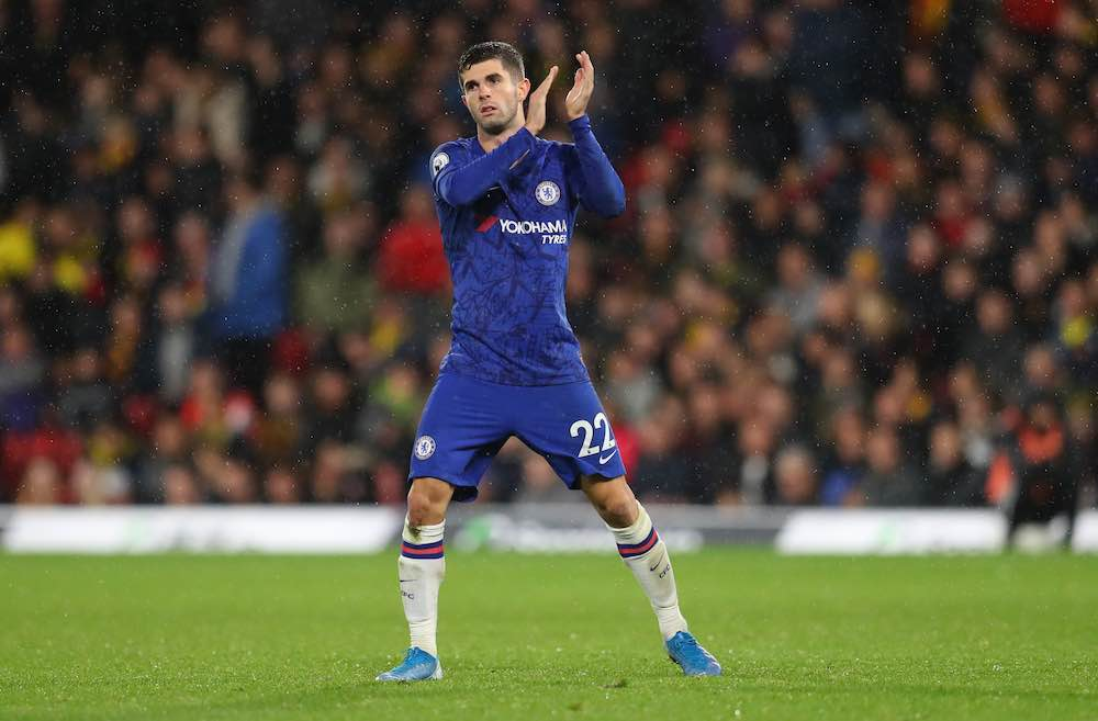 Christian Pulisic Emerges As Chelsea's Best Player Since Season Restart