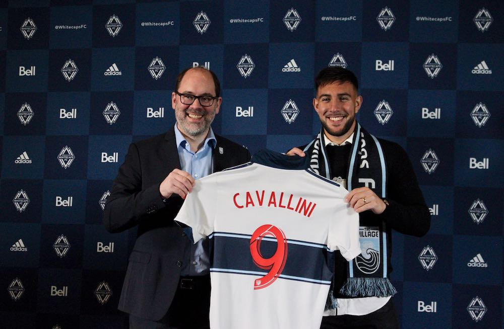 Caps Pay Club-Record Fee For Lucas Cavallini As MLS Teams Continue To Spend
