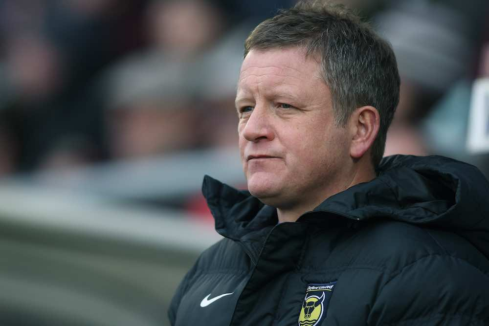 Chris Wilder Oxford