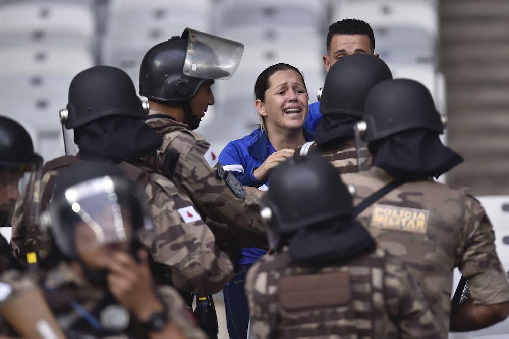 Toxic Scenes In Mineirão As Cruzeiro Sink To Serie B