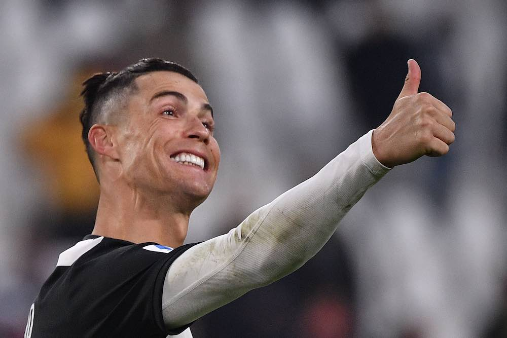 Cristiano Ronaldo Starts 2020 With A Hat Trick For Juventus Vs