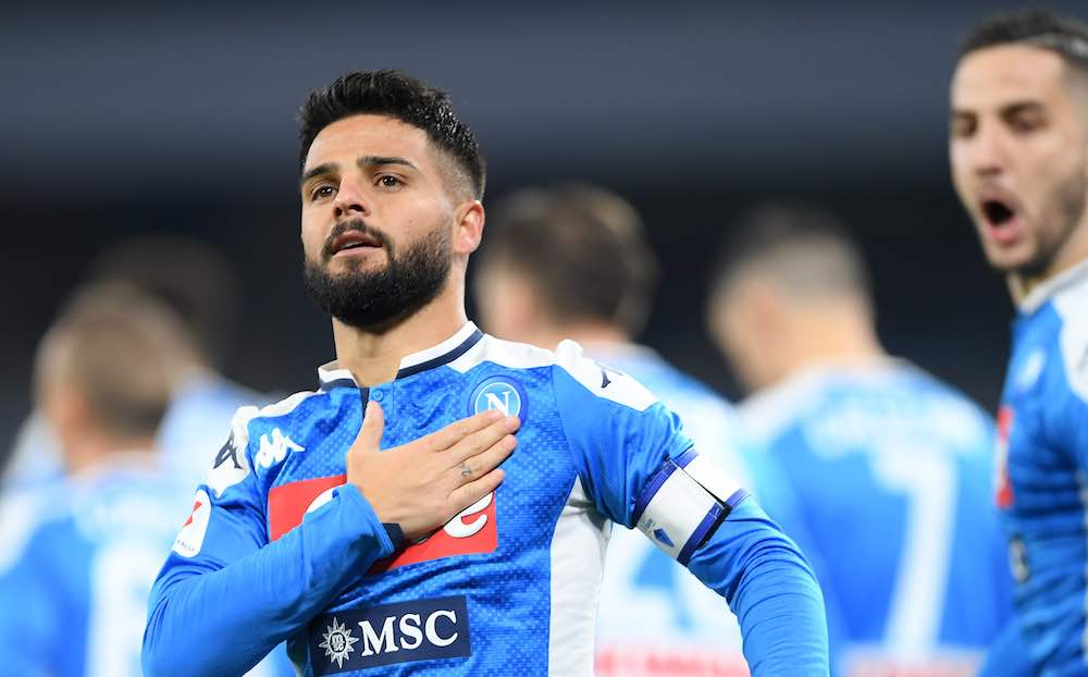 'We're Back!' Declares Lorenzo Insigne After Napoli Win At Sampdoria