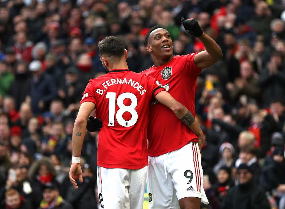 Bruno Fernandes Anthony Martial