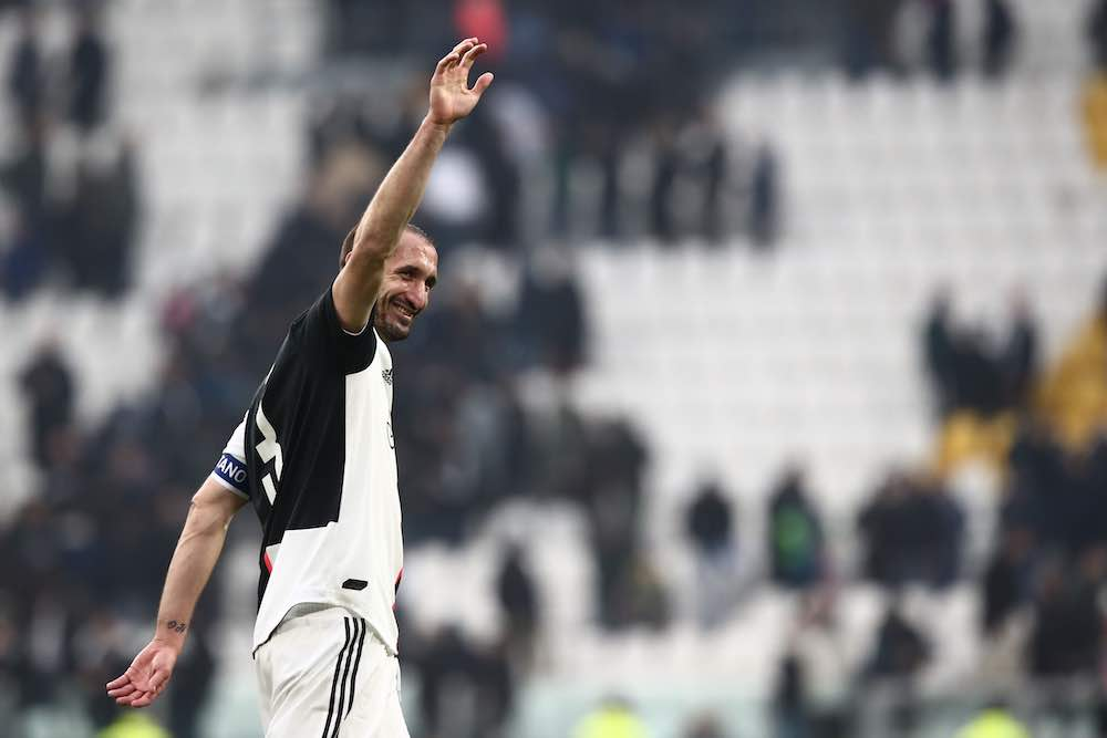 Chiellini Juventus return