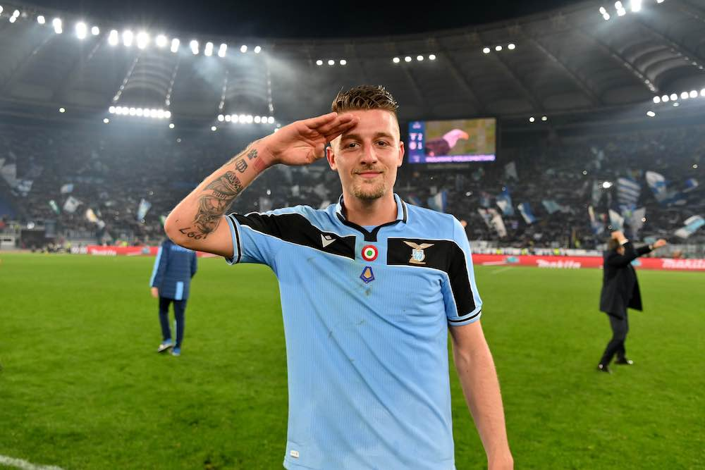 Lazio Second In Serie A Thanks To Sergej Milinkovic-Savic Strike