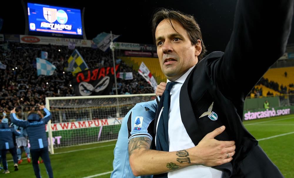 Simone Inzaghi Lazio Parma