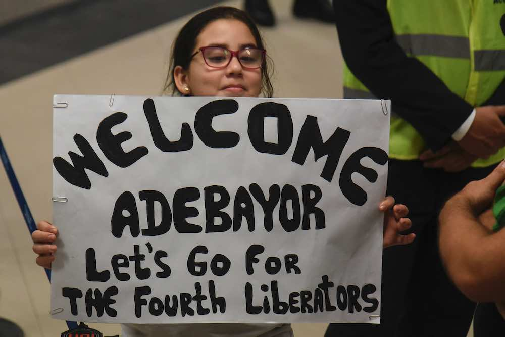 Emmanuel Adebayor welcome Libertadores