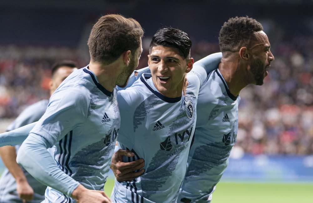 Alan Pulido Edges Lucas Cavallini On MLS Debut As Sporting KC Defeat Vancouver Whitecaps
