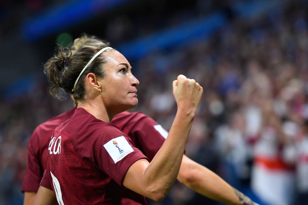 England International Jodie Taylor: From Tranmere Rovers To OL Reign