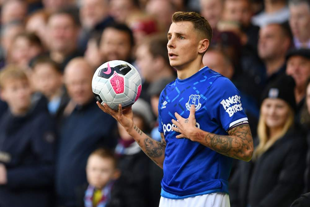 Lucas Digne Everton