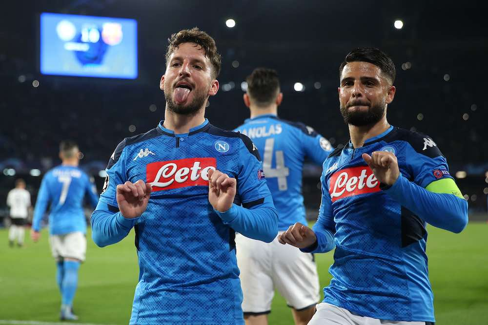 Mertens Barcelona celebration