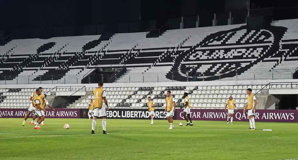 Olimpia Paraguay empty stadium