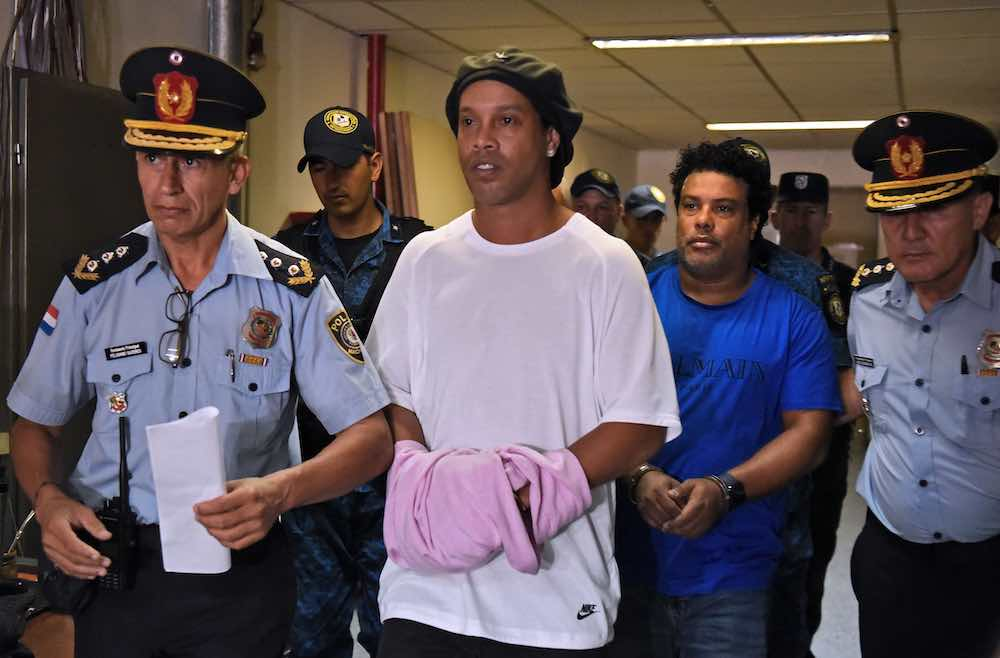 Ronaldinho Spends 40th Birthday Behind Bars In Paraguayan Prison