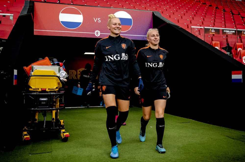 Danique Kerkdijk training netherlands