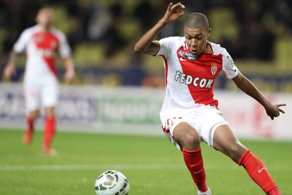 Mbappe Monaco