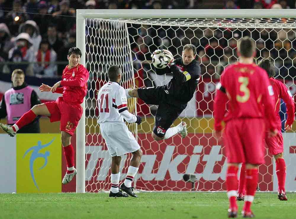 Rogerio Ceni vs Liverpool