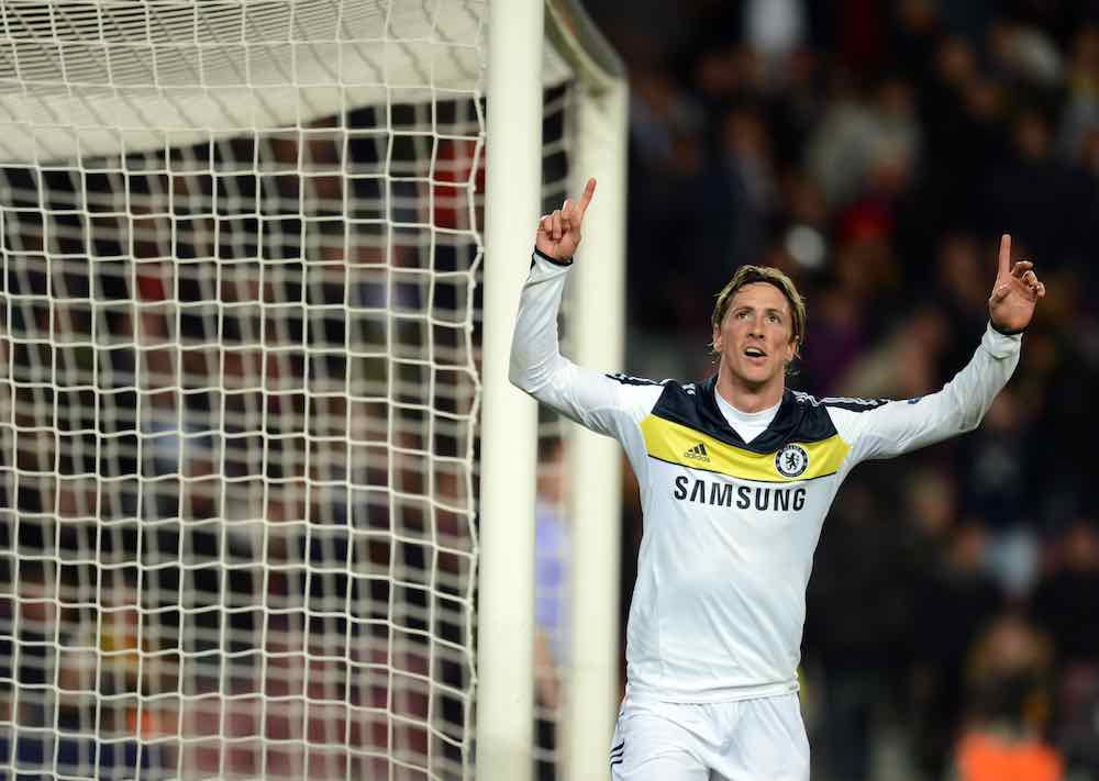 When Chelsea's Fernando Torres Knocked Out Barca To The Delight Of Gary Neville
