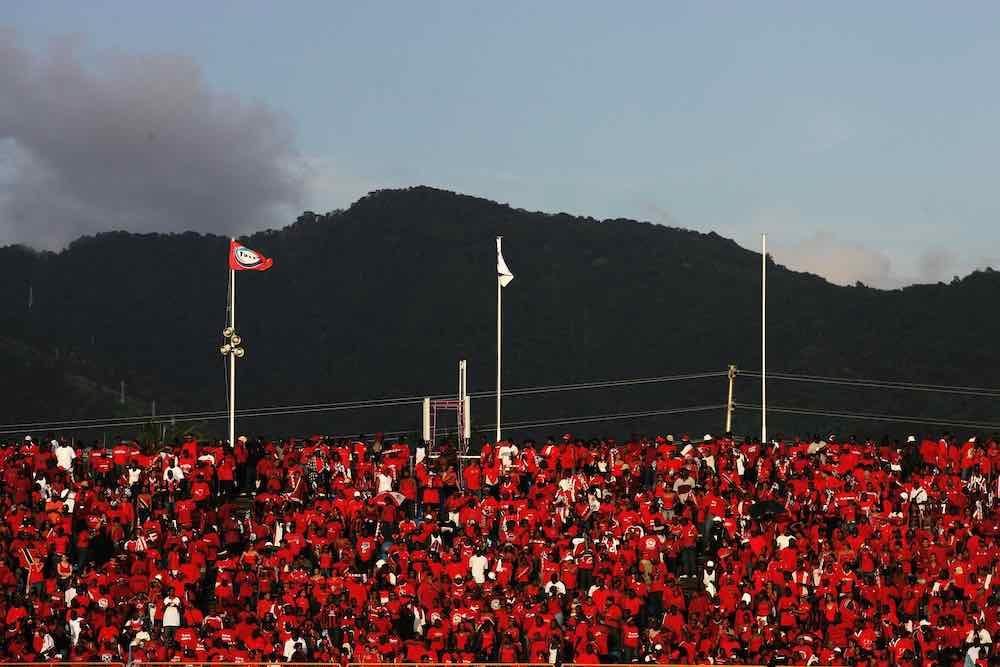 Trinidad and tobago port of spain fans